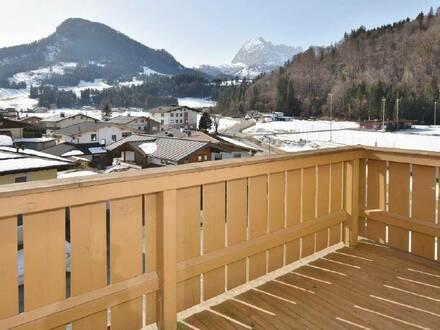 Schöne Wohnung mit großzügiger West-Terrasse