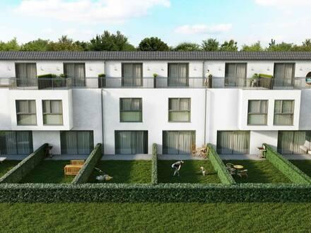 P&P: ERSTBEZUG & UNBEFRISTET: Reihenhaus mit Dachterrasse, Keller, Eigengarten
