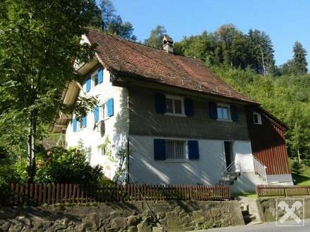 Dornbirn - Steinebach: Naturnahes Einfamilienhaus