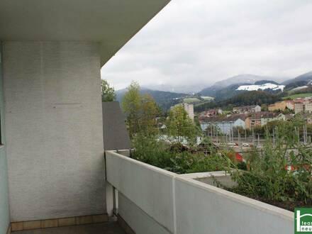 Provisionsfreie Familienwohnung mit Loggia - in Mürz