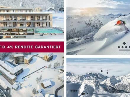 Anlegerapartments im Top Skigebiet 4% Fix-Rendite