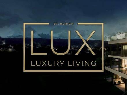 LUX_01.2   LUXURY - Living (38 Wohnungen) von 59 - 112 m² und (6 Penthäuser) von 117 - 163 m²