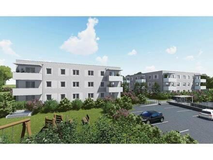 Neubau-Mietwohnung in Kremsmünster mit Garten