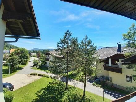Rosegg: gemütliche, renovierte Wohnung mit 2 Balkonen in ruhiger, sonniger Lage nahe Velden!