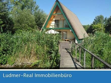 2 Schilf-Ferienhäuser am Neusiedlersee zur Langzeitmiete in Purbach
