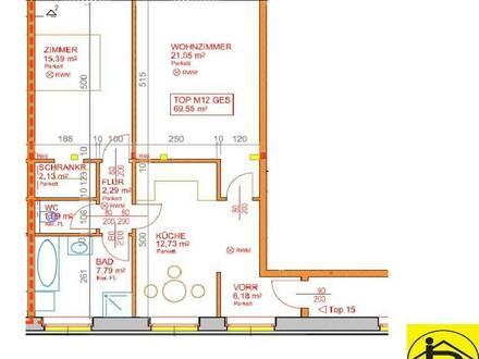14182 Großzügige Wohnung im Merkur Gebäude!