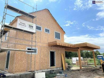 Grünruheoase: Einfamilienhaus mit großem Garten in absoluter Ruhelage!