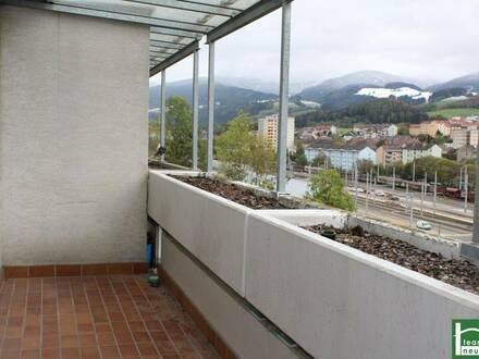 2 Zimmer Wohnung - ZENTRAL BEIM BAHNHOF