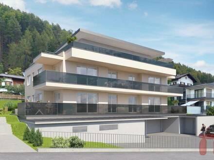 Sonnige 3-Zimmer Penthouse-Wohnung mit riesiger Terrasse in Vomp/Fiecht