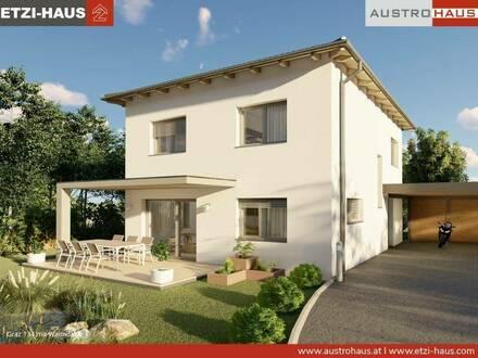 Bad Hall - Ziegelhaus ab € 406.046,- inkl. 818 m² Grund