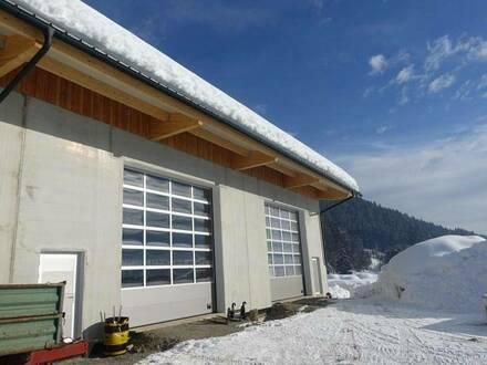 Neue Lagerhalle an der B111/Waidegg