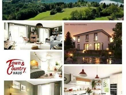 Keutschach - Schlüsselfertiges TC-Ziegelmassivhaus mit Keller, Fußbodenheizung und Grundstück in Seenähe
