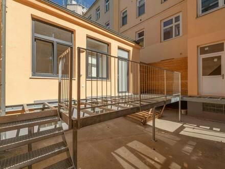 ++VIDEOBESICHTIGUNG++ TOP-Saniertes Hofgebäude mit Terrasse und Hof/Gartenanteil!