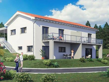 Moderne Doppelhaushälfte Top 1 mit Doppelcarport in St. Stefan ob Stainz