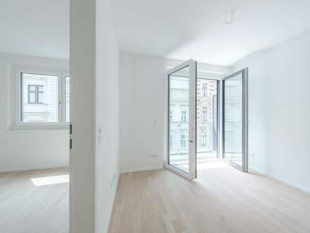 moderne 2-Zimmer Wohnung mit Loggia direkt in der Stadt - ab 1. Oktober!