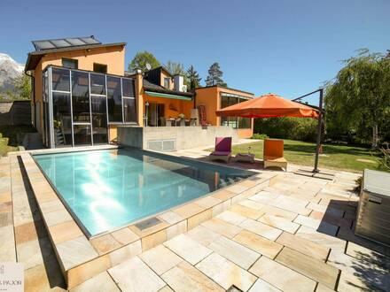 NEUER PREIS - Ruheoase mit Luxusfaktor und Nirosta Pool - Tulfes