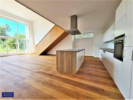 Herrschaftlich wohnen im Schloss mit Terrassengarten - hochwertig aus Architektenhand!