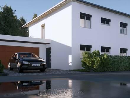Neue schlüsselfertige Einfamilienhäuser in Weidenholz