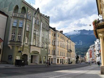 Stadthaus im Zentrum von Innsbruck, in Klinknähe ab Juli verfügbar - mit besonderen Scharm zum Wohnen mit ausbaufähiger…