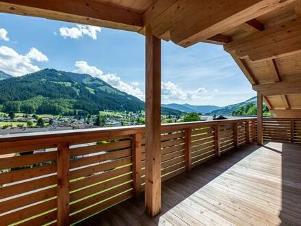 Es werde Licht - Sonnendurchflutete Penthouse-Wohnung <br />mit Panoramablick aufs Brixental