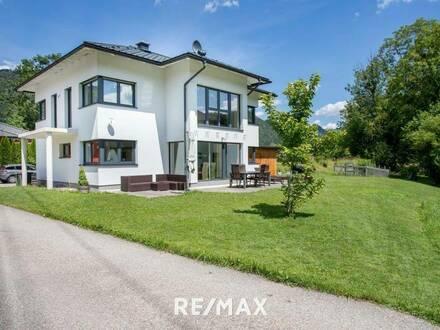 Open House am Freitag, 7. August und Samstag, 8. August! Neuwertiges Einfamilienhaus in schöner Lage in Bad Ischl!