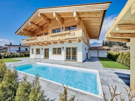 Tiroler Landhaus-Juwel mit Outdoor Pool