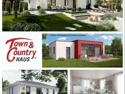 Schlüsselfertiger TC-Ziegelmassivbungalow inkl. Grundstücksservice