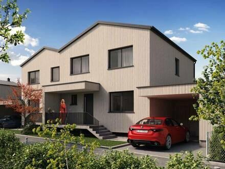 HOLZBAU CHALET SCHLOSSPARK H13 - nachhaltiges Landleben und Homeoffice unter einem Dach - Classic