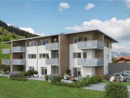Leistbare 3-Raum Neubau-Mietwohnung in Dorfgastein