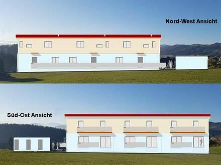 Neubau Maisonettenwohnung in Reihenhausstil