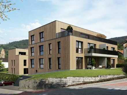 exklusive Penthouse-Wohnung mit 111,79 qm NurHolz-Bauweise und großer Dachterrasse KFW-55 Standard