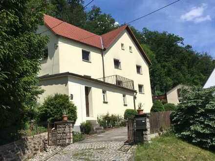 Gepflegtes Zweifamilienhaus in ruhiger Lage von Bobritzsch-Hilbersdorf
