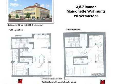 Wunderschöne 3,5-Zimmer Maisonette Wohnung (Nr. 2.17 A, 1./2. OG)