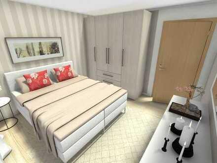viel Platz: 96 m² - 2 Balkone - große Küche mit Fenster - 2 Bäder