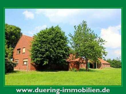 Bauernhaus in Alleinlage mit Land!