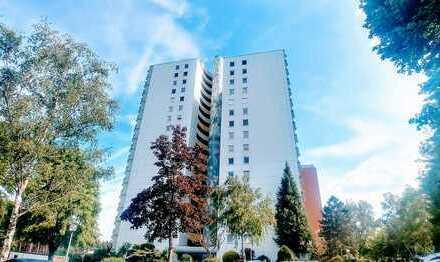 Wohnen in luftiger Höhe: 4-Zimmer-Wohnung mit Balkon