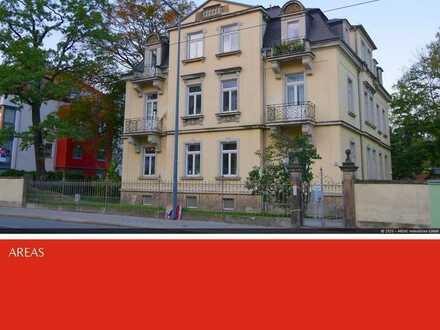 AREAS: Bezaubernde 3-R.-Whg. mit Balkon in denkmalgesch. Villa in Blasewitz