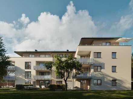 Attraktive 4-Zimmer Neubau-Erstbezug-Wohnung mit Süd-Westbalkon in Bad Krozingen!