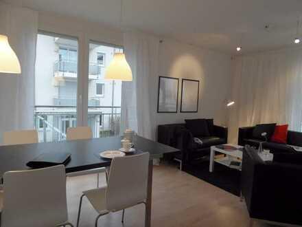 4 Raum-Maisonette-Erdgeschoss-Wohnung mit Balkon und Terrasse