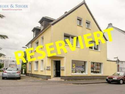 PROVISIONSFREI: Kernsaniertes 221 m² großes Wohnhaus mit Bürofläche in Troisdorf-Oberlar!