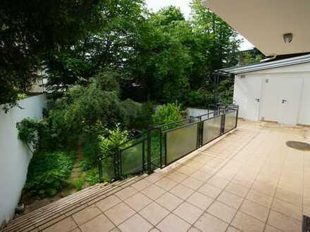 Schöne Maisonette-EG-Whg. mit Gartengeschoss und eigenem Garten und Garage im Zooviertel