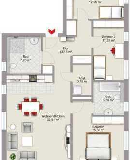 Top Gelegenheit! 4-Zimmer Neubauwohnung in begehrter Lage in Malsch