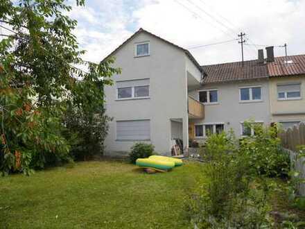 Große Doppelhaushälfte, 5 Zimmer mit Garten, und 2 Zi. ELW in Amstetten, Alb-Donau-Kreis