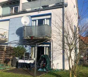 Schöne Reiheneckhaus mit Garage und 2 Parkplätze in Elmshausen