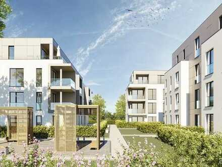 Eine der letzten Wohnungen: Neubau 3-Zimmer-ETW im Betreuten Wohnen in Linkenheim-Hoch.
