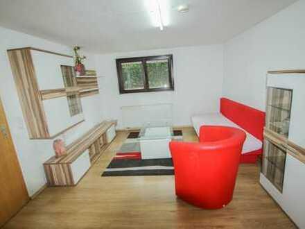 Kleine aber feine Souterrain Wohnung voll möbliert in Nufringen ab sofort frei