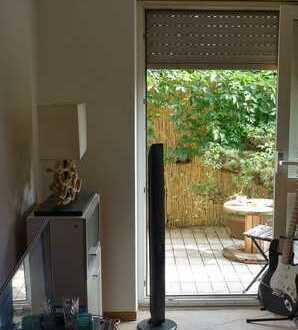 Gepflegte 2-Zimmer-Wohnung mit Terasse und EBK in Magstadt