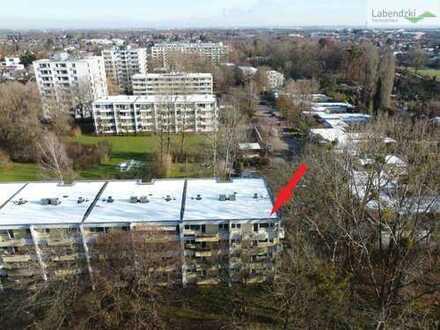 Superschöne nicht einsehbare 3-Zimmer-Wohnung am Parkrand in Bogenhausen-Denning