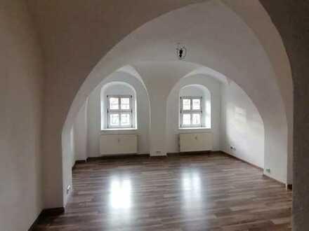 Wunderschöne historische Gewölbe im Wohnzimmer!