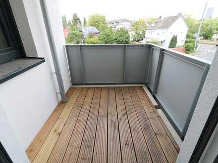 Stilvolle Etagenwohnung mit Balkon - 2 Zi, 58 qm, Einbauküche